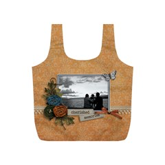Recycle Bag (s)   Cherished Memories By Jennyl   Full Print Recycle Bag (s)   S4oa47qua2vz   Www Artscow Com Front