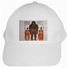 Big Foot & Romans White Baseball Cap by creationtruth