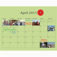 Our Calendar 2014/5 By Heidi Short   Wall Calendar 11  X 8 5  (12 Months)   Iyfc966a8l7g   Www Artscow Com Apr 2015