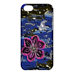 Flooded Flower Apple Iphone 5c Hardshell Case by Rbrendes