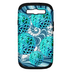 Teal Sea Forest, Abstract Underwater Ocean Samsung Galaxy S Iii Hardshell Case (pc+silicone) by DianeClancy