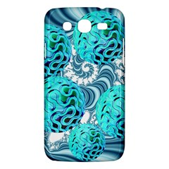 Teal Sea Forest, Abstract Underwater Ocean Samsung Galaxy Mega 5 8 I9152 Hardshell Case  by DianeClancy