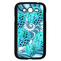 Teal Sea Forest, Abstract Underwater Ocean Samsung Galaxy Grand Duos I9082 Case (black) by DianeClancy