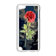 Long Stem Rose Apple Ipod Touch 5 Case (white) by Rbrendes