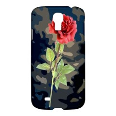 Long Stem Rose Samsung Galaxy S4 I9500/i9505 Hardshell Case by Rbrendes