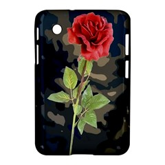 Long Stem Rose Samsung Galaxy Tab 2 (7 ) P3100 Hardshell Case  by Rbrendes
