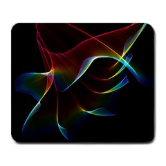 Imagine, Through The Abstract Rainbow Veil Large Mouse Pad (rectangle) by DianeClancy