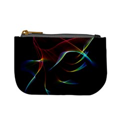 Imagine, Through The Abstract Rainbow Veil Coin Change Purse by DianeClancy