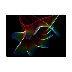 Imagine, Through The Abstract Rainbow Veil Apple Ipad Mini Flip Case by DianeClancy