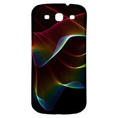 Imagine, Through The Abstract Rainbow Veil Samsung Galaxy S3 S Iii Classic Hardshell Back Case by DianeClancy