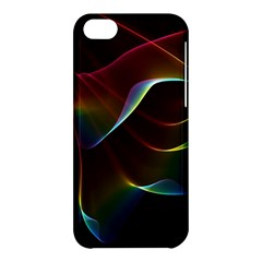 Imagine, Through The Abstract Rainbow Veil Apple Iphone 5c Hardshell Case by DianeClancy