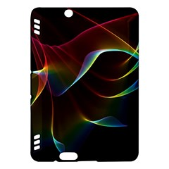 Imagine, Through The Abstract Rainbow Veil Kindle Fire Hdx 7  Hardshell Case by DianeClancy