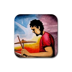 My Music & I Drink Coasters 4 Pack (square) by CaterinaBassano