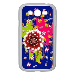 Flower Bunch Samsung Galaxy Grand Duos I9082 Case (white) by Rbrendes