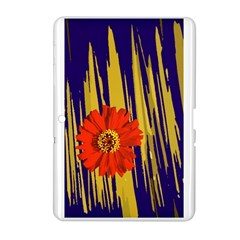 Red Flower Samsung Galaxy Tab 2 (10 1 ) P5100 Hardshell Case  by Rbrendes