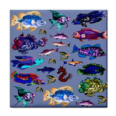 Fishy Ceramic Tile