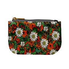 Flowers Coin Change Purse by Rbrendes