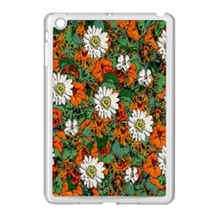 Flowers Apple iPad Mini Case (White) by Rbrendes