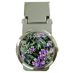Garden Greens Money Clip With Watch by Rbrendes