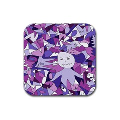 Fms Confusion Drink Coaster (square) by FunWithFibro