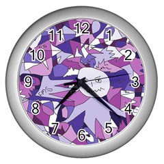 Fms Confusion Wall Clock (silver) by FunWithFibro