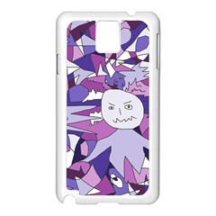 Fms Confusion Samsung Galaxy Note 3 N9005 Case (white) by FunWithFibro