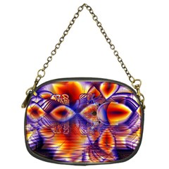 Winter Crystal Palace, Abstract Cosmic Dream Chain Purse (one Side) by DianeClancy
