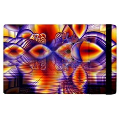 Winter Crystal Palace, Abstract Cosmic Dream Apple Ipad 3/4 Flip Case by DianeClancy