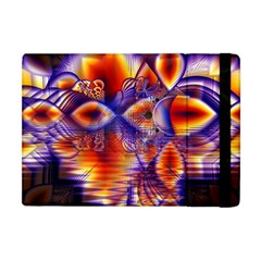 Winter Crystal Palace, Abstract Cosmic Dream Apple Ipad Mini Flip Case by DianeClancy