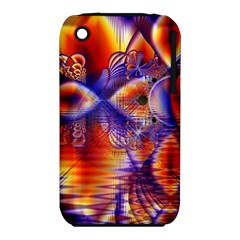 Winter Crystal Palace, Abstract Cosmic Dream Apple Iphone 3g/3gs Hardshell Case (pc+silicone) by DianeClancy