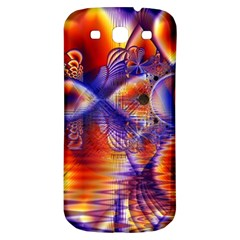 Winter Crystal Palace, Abstract Cosmic Dream Samsung Galaxy S3 S Iii Classic Hardshell Back Case by DianeClancy