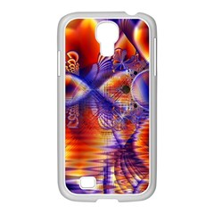 Winter Crystal Palace, Abstract Cosmic Dream Samsung Galaxy S4 I9500/ I9505 Case (white) by DianeClancy