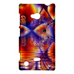 Winter Crystal Palace, Abstract Cosmic Dream Nokia Lumia 720 Hardshell Case by DianeClancy