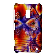 Winter Crystal Palace, Abstract Cosmic Dream Nokia Lumia 620 Hardshell Case by DianeClancy