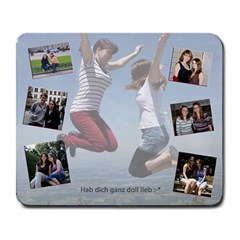 tati Large Mouse Pad (Rectangle) by happyaber