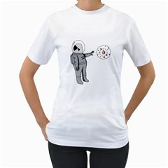 Curiosity Women s T-Shirt (White)  by Contest1739180-236290