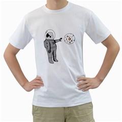 Curiosity Men s T Shirt (white)  by Contest1739180-236290