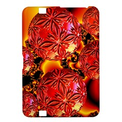 Flame Delights, Abstract Red Orange Kindle Fire Hd 8 9  Hardshell Case by DianeClancy