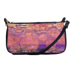 Glorious Skies, Abstract Pink And Yellow Dream Evening Bag by DianeClancy