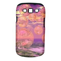 Glorious Skies, Abstract Pink And Yellow Dream Samsung Galaxy S Iii Classic Hardshell Case (pc+silicone) by DianeClancy