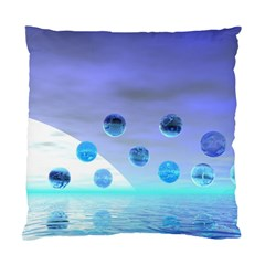Moonlight Wonder, Abstract Journey To The Unknown Cushion Case (two Sided)  by DianeClancy