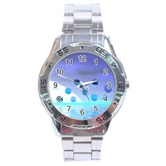 Moonlight Wonder, Abstract Journey To The Unknown Stainless Steel Watch by DianeClancy