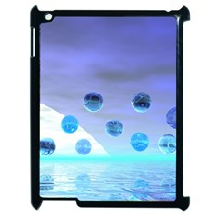 Moonlight Wonder, Abstract Journey To The Unknown Apple Ipad 2 Case (black) by DianeClancy