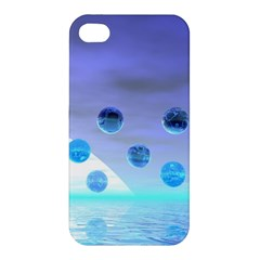 Moonlight Wonder, Abstract Journey To The Unknown Apple Iphone 4/4s Hardshell Case by DianeClancy