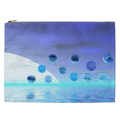 Moonlight Wonder, Abstract Journey To The Unknown Cosmetic Bag (XXL)