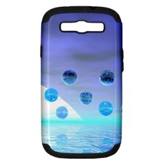 Moonlight Wonder, Abstract Journey To The Unknown Samsung Galaxy S Iii Hardshell Case (pc+silicone) by DianeClancy