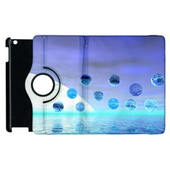 Moonlight Wonder, Abstract Journey To The Unknown Apple Ipad 2 Flip 360 Case by DianeClancy