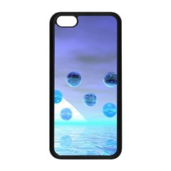 Moonlight Wonder, Abstract Journey To The Unknown Apple Iphone 5c Seamless Case (black) by DianeClancy