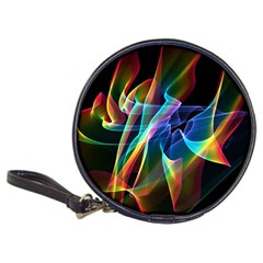 Aurora Ribbons, Abstract Rainbow Veils  CD Wallet