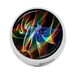 Aurora Ribbons, Abstract Rainbow Veils  4 Port Usb Hub (one Side) by DianeClancy